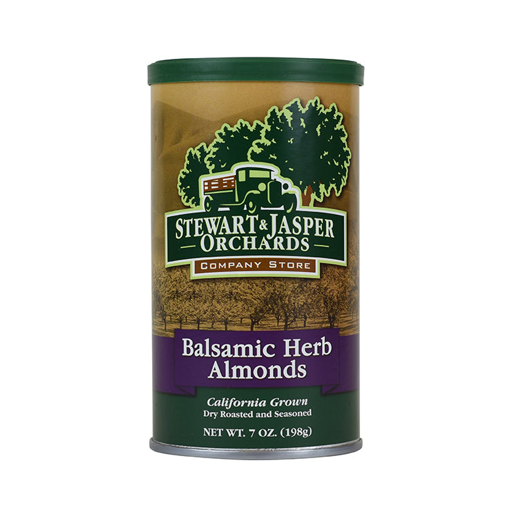 Balsamic Herb Almonds