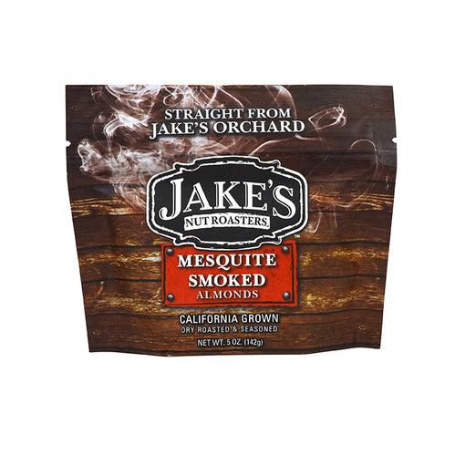 Jake's Mesquite Smoked Almonds - 5oz
