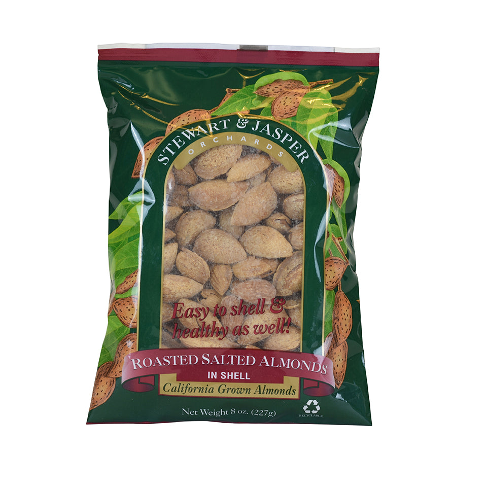 Roasted Salted Inshell Almonds