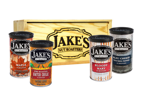Jake's Four Pack Wooden Gift Crate