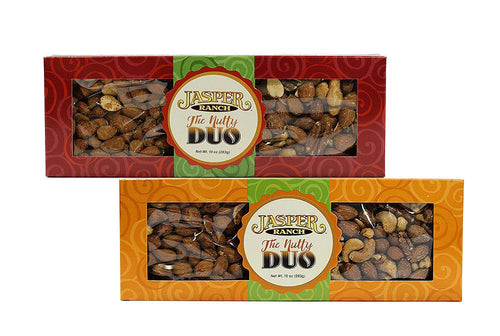 Maple Mixed Nuts & Spicy Cocktail Almonds Nutty Duo