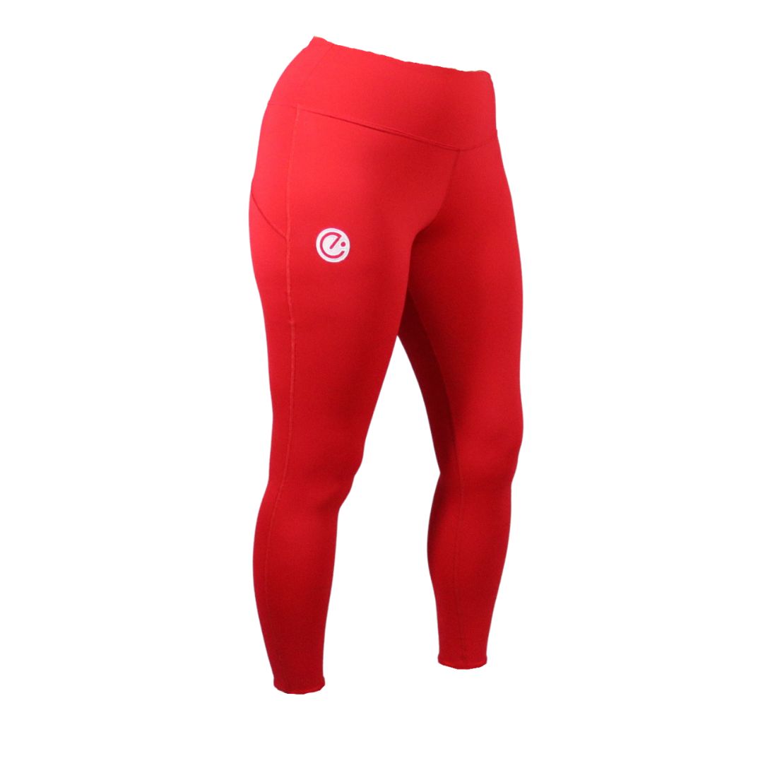 Move Leggings - Red