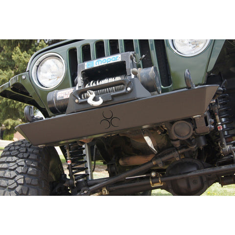 Jeep TJ/TJ Unlimited Crawler Front Bumper Semi Gloss Black Powdercoat Nemesis Industries