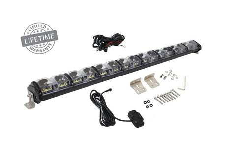 40 Inch LED Light Bar With Variable Beam DRL, RGB Back Light 6 Brightness EKO Overland Vehicle Systems