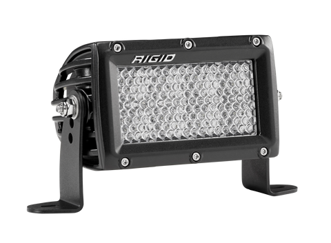 4 Inch Driving Diffused Light Black Housing E-Series Pro RIGID Industries