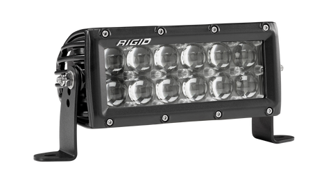 6 Inch Hyperspot Light Black Housing E-Series Pro RIGID Industries