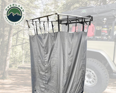Nomadic Quick Deploying Shower Overland Vehicle Systems