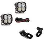 Dodge Ram LED Light Pods For Ram 2500/3500 19-On A-Pillar Kits XL 80 Driving Combo Baja Designs