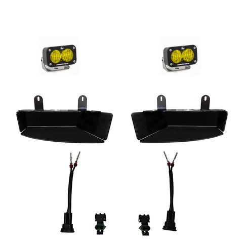 Dodge Ram Light Kit For Ram 2500/3500 19-On FPK S2 Sport W/C Amber Baja Designs