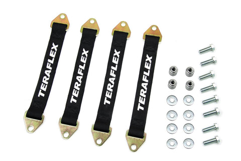 Jeep JK/JKU Front and Rear Limit Strap Kit 07-18 Wrangler JK/JKU TeraFlex