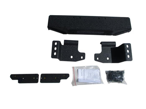 Jeep TJ/YJ Winch Mount 87-06 Wrangler TJ/YJ Steel Black Powdercoat ENGO