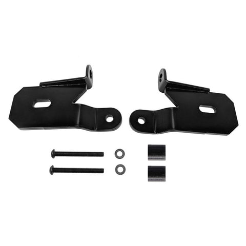 KC HiLites Light Mount Bracket Set- Windshield- Pillar Mount- Pair- For 18-20 Jeep JL