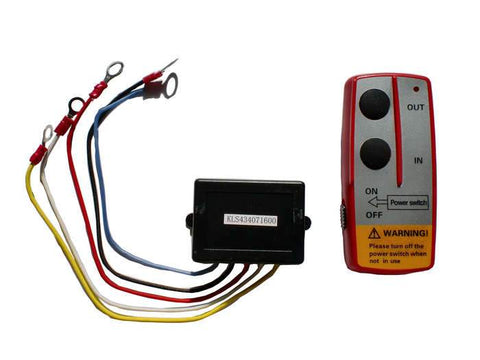 Wireless Winch Remotre Control 12 Volt ENGO