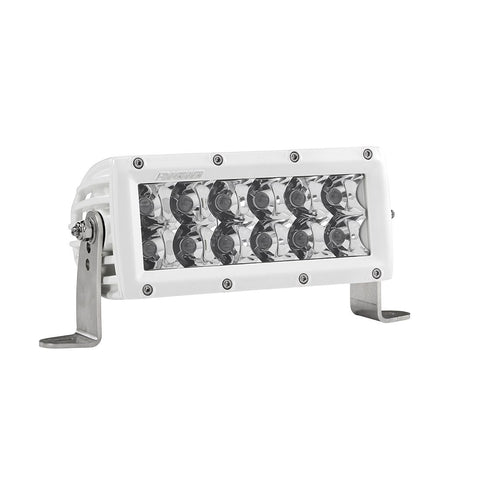 6 Inch Spot Light White Housing E-Series Pro RIGID Industries