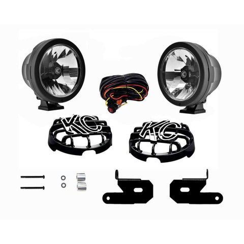 "KC HiLites 6"" Pro-Sport Gravity LED - Pillar Mount - 2 Light System - 20W Wide-40 Beam - for 18-20 Jeep JL"