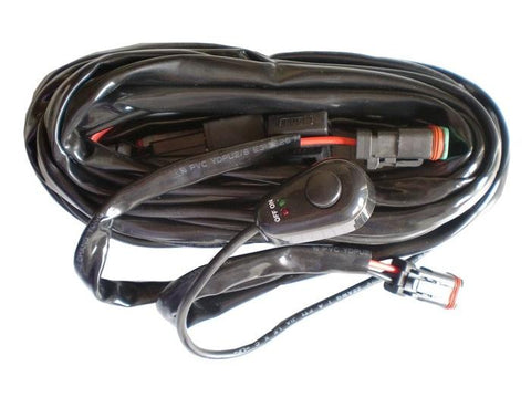 Wiring Harness For Led Work Lights For Use With 1 Or 2 Lights ENGO