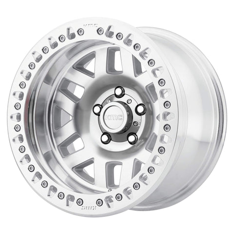 KMC Wheels KM229 Machete Beadlock Machined Wheel 17X9 5X5 - Jeep JK/JL/JT