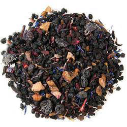 Try our blueberry organic herbal tea today