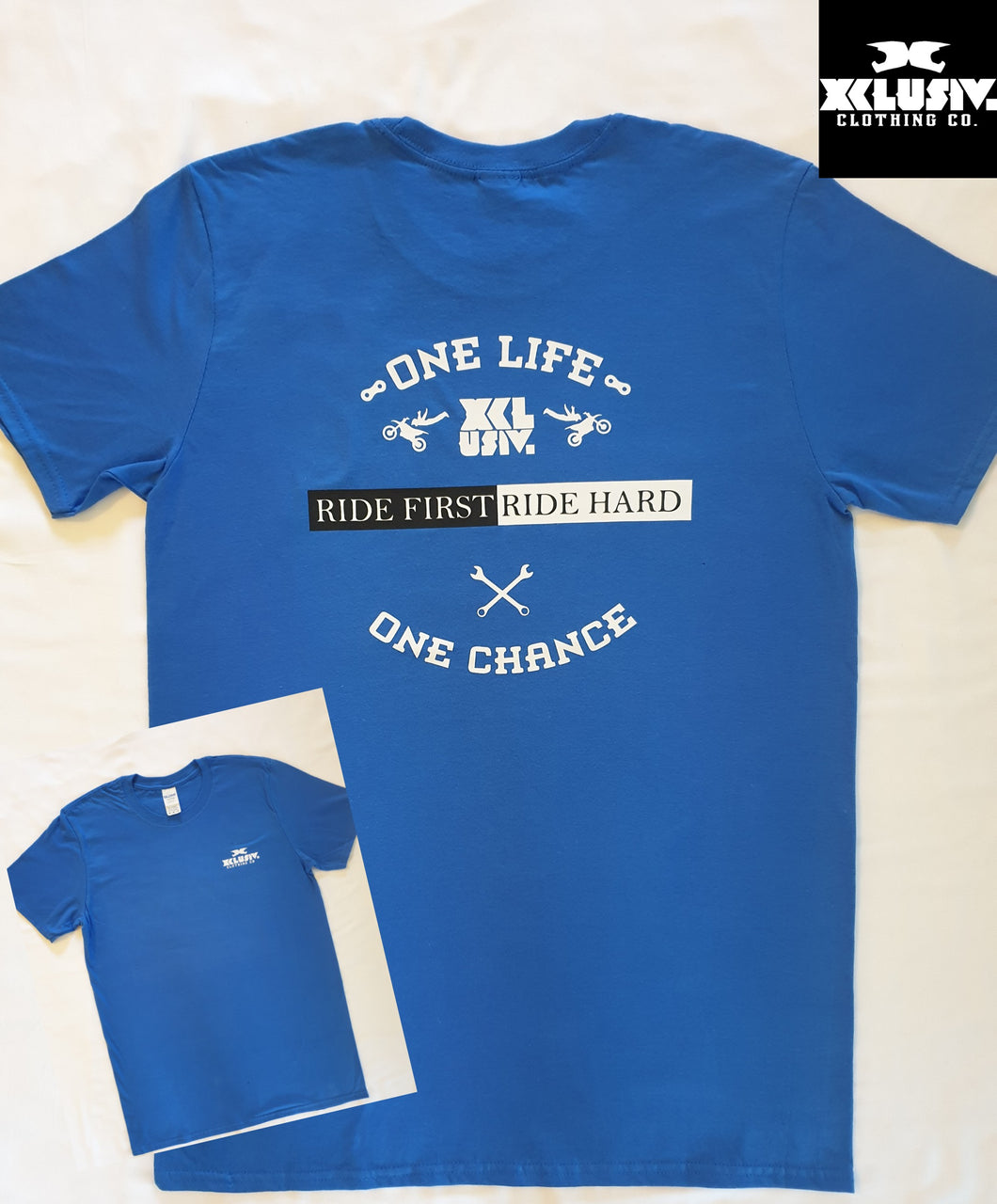 XCLUSIV One Life, One Chance t shirt