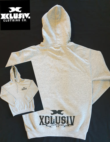 XCLUSIV Light Grey Hoodie