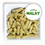 Green MALAY Natural Kratom Capsules
