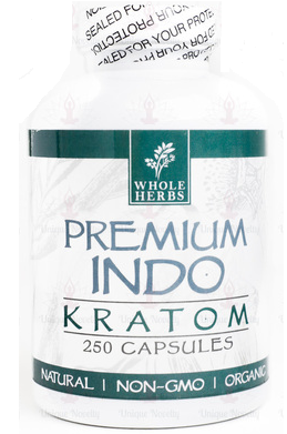whole herbs indo 250 capsules natural kratom