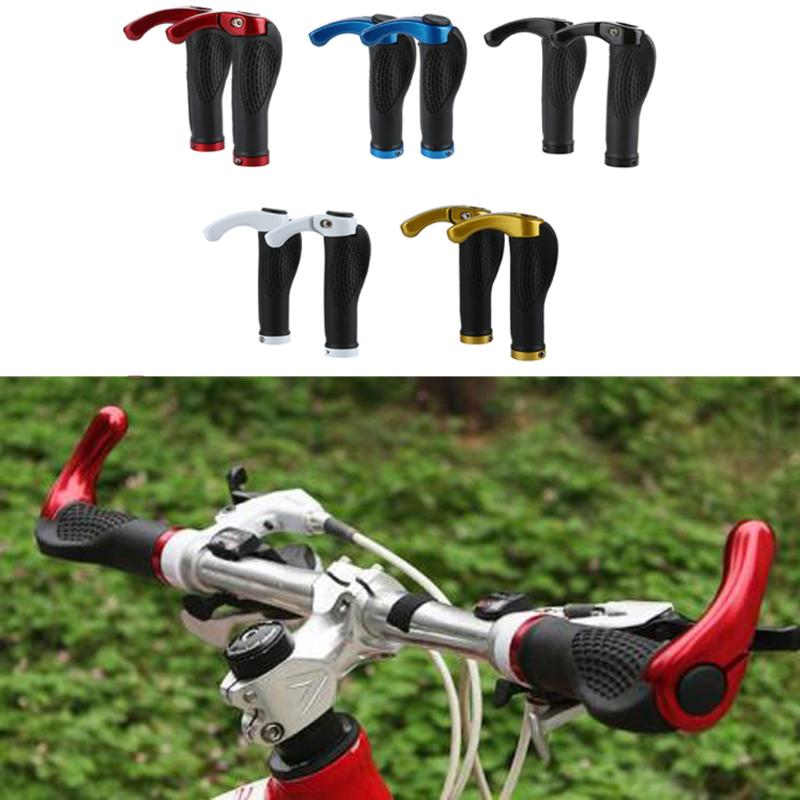 Ergonomic Bicycle Grips, Anti-Skid Rubber with Lock-On Ends