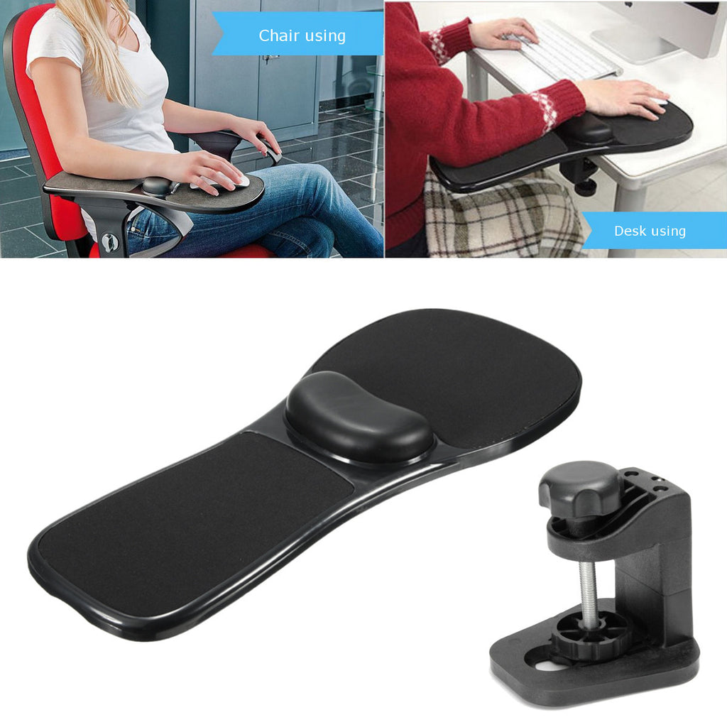 Ergonomic Home Office Computer Arm Rest with Mouse Pad and Support