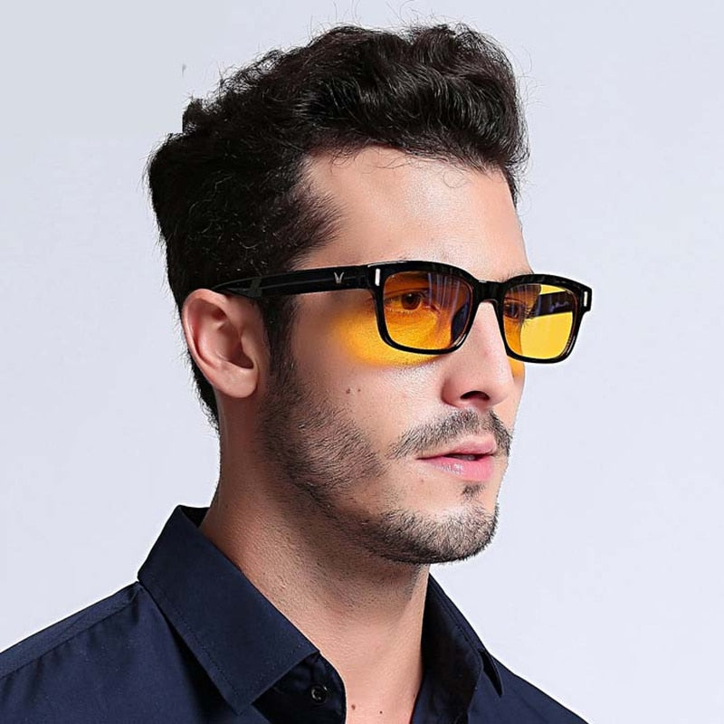 Men's Blue Ray Computer Glasses