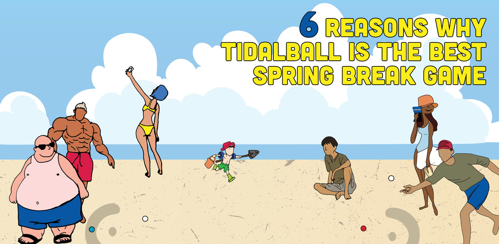 6 REASONS WHY TIDALBALL IS THE BEST SPRING BREAK BEACH GAME