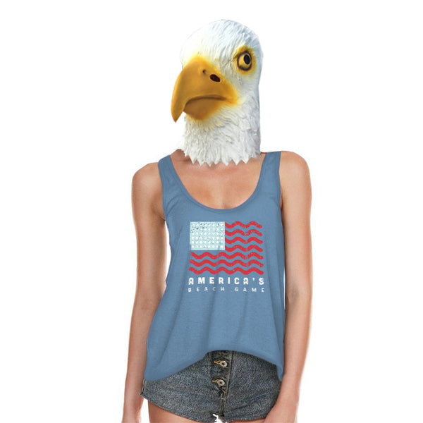 America's Beach Game Women's Tank