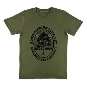 Eucalypt Appreciation Society Retro Khaki