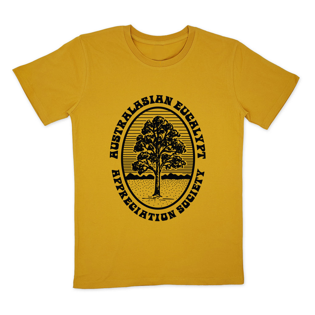 Eucalypt Appreciation Society Retro Mustard
