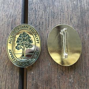 Australasian Eucalypt Appreciation Society Lapel Pin