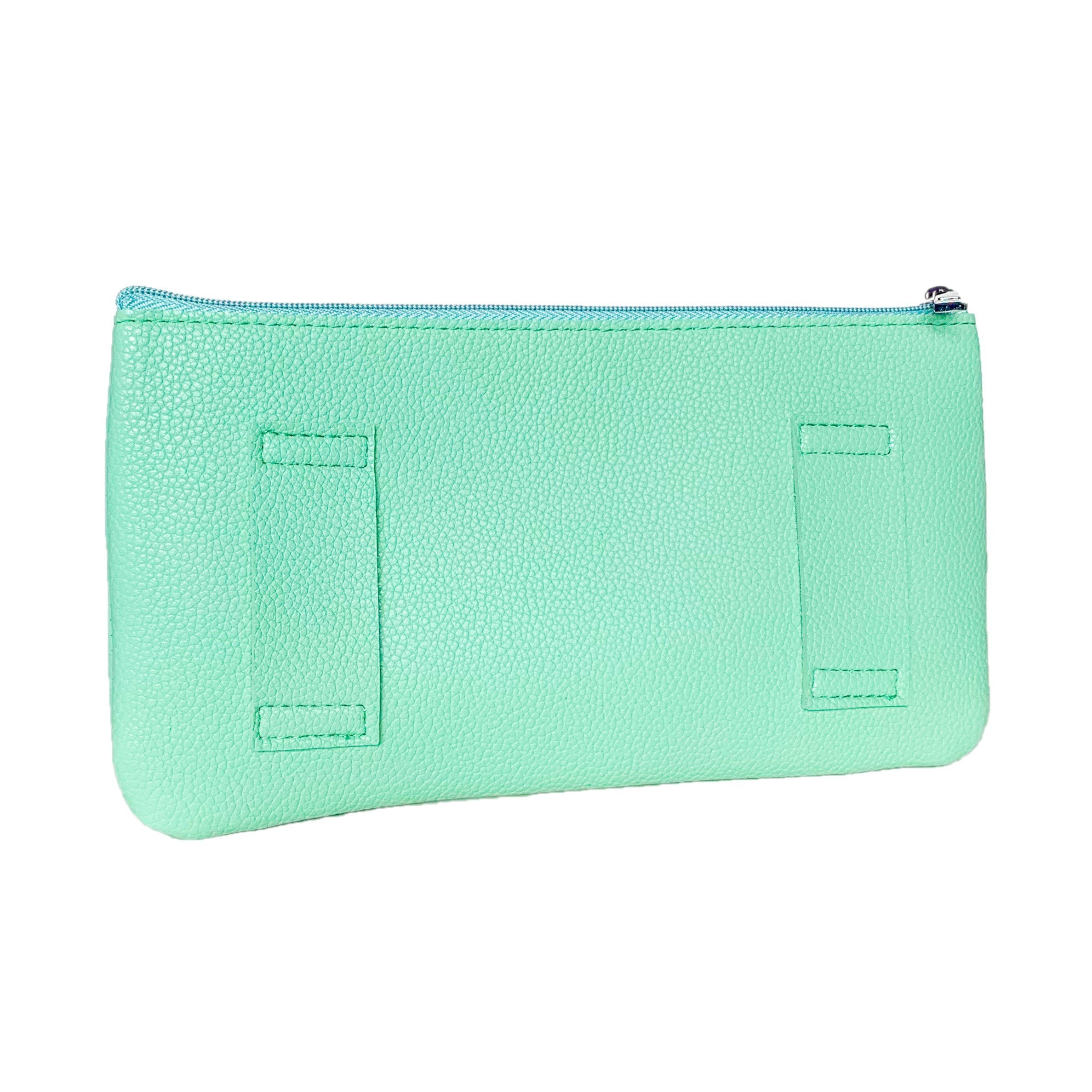green yoga purse for strap