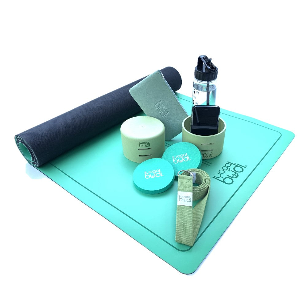 Green Yoga Budi Complete Set with Mat