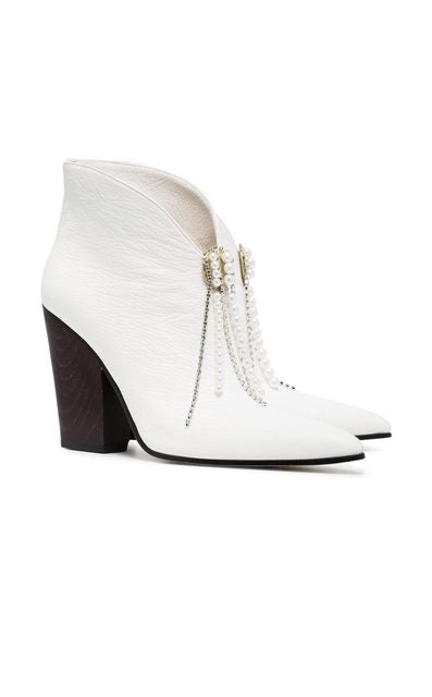 Pearl Booties by MAGDA BUTRYM