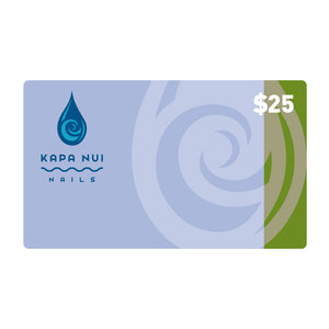 $25 Gift Card for Kapa Nui Nail products
