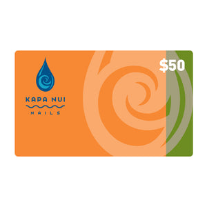 $50 Gift Card for Kapa Nui Nail products