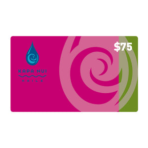 $75 Gift Card for Kapa Nui Nail products