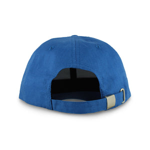 Hemp baseball cap hat branded Kapa Nui  back view with clasp
