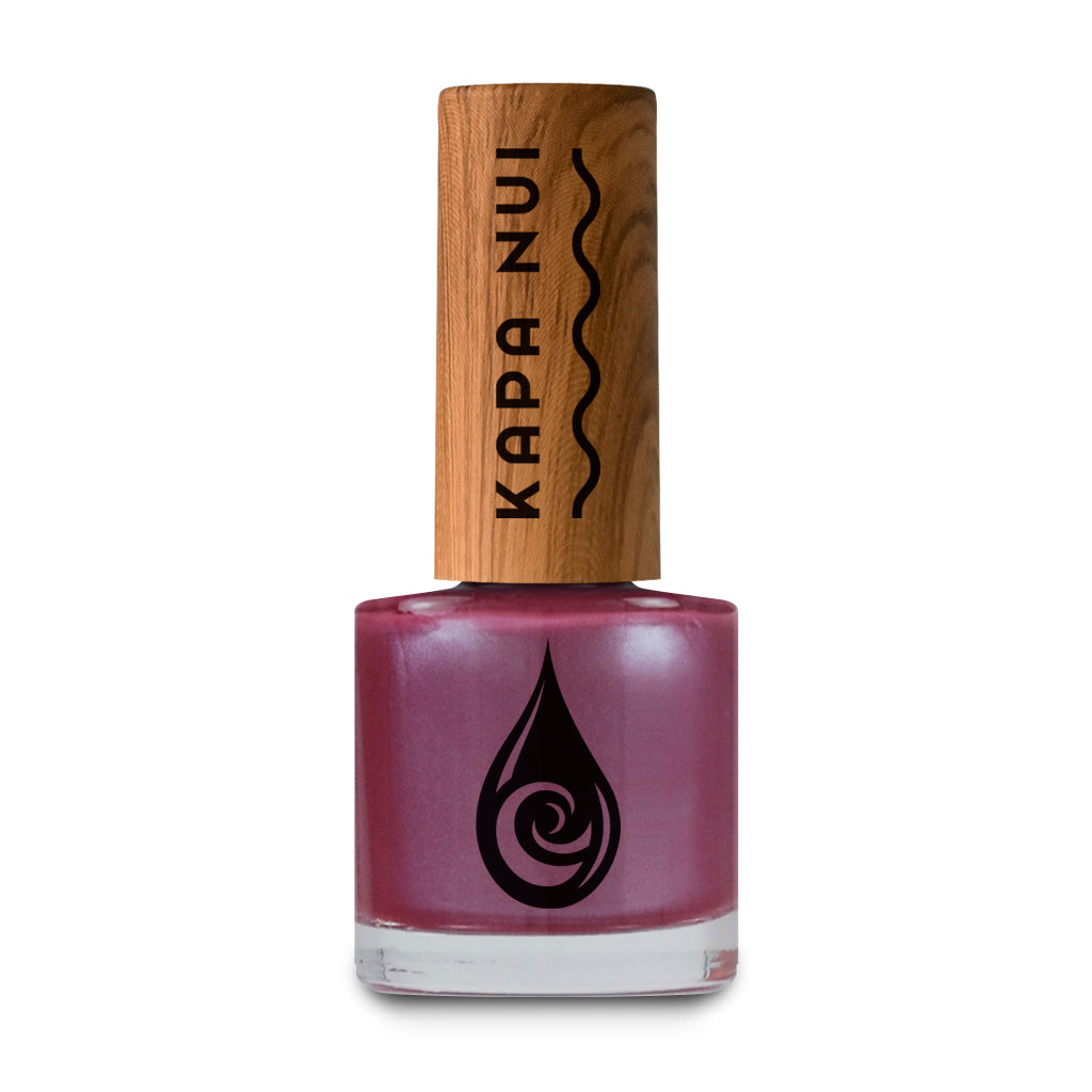 Evening Orchid non-toxic nail polish color 9ml bottle toxin free natural healthy nail polish vegan and cruelty free