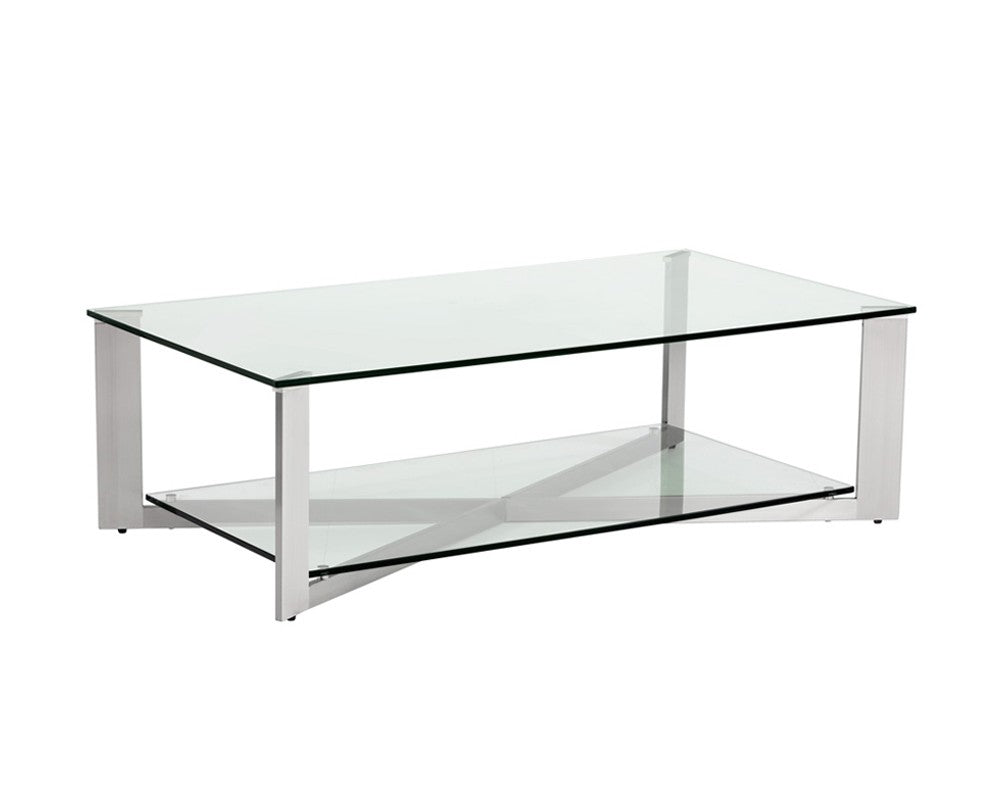 Xavier Coffee Table  Rectangular