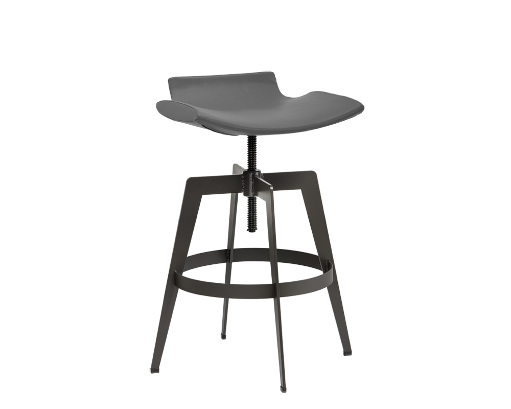 Bancroft Adjustable Stool - Grey