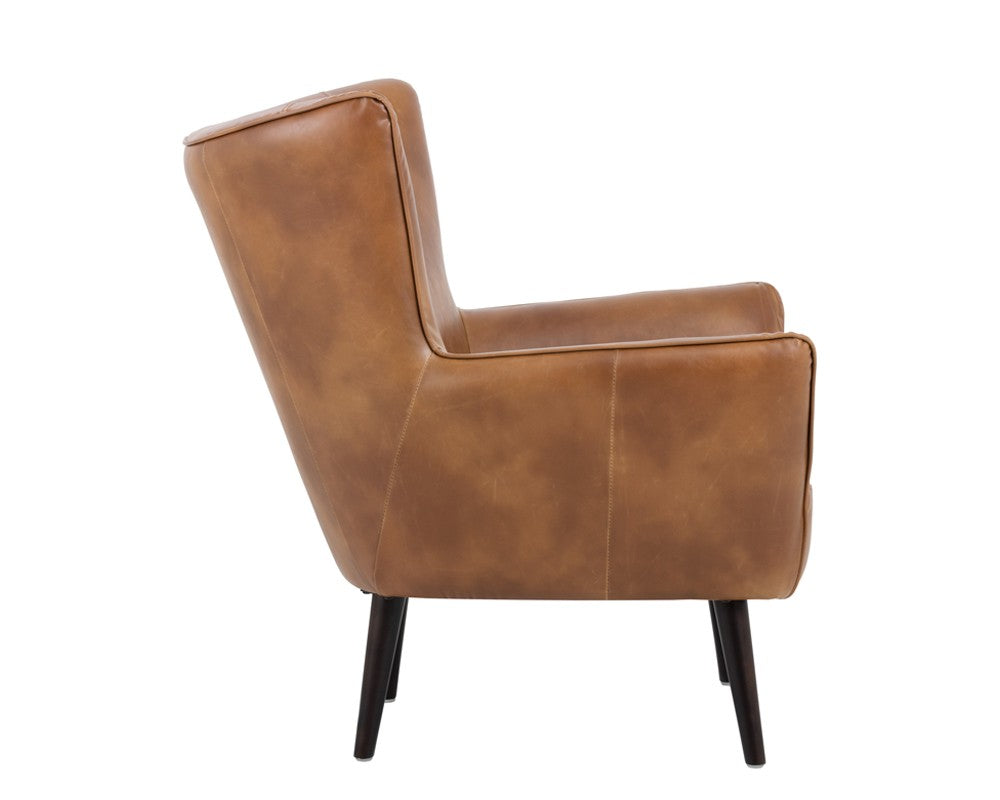 Luther Occasional Chair - Tobbaco