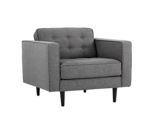 Donnie Armchair - Dark Grey