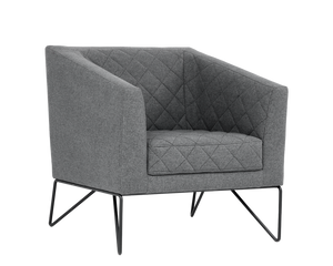 Princeton Occasional Chair - Dark Grey