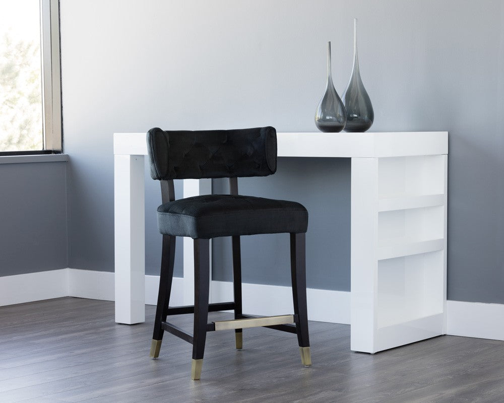 Tatum Counter Stool - Black