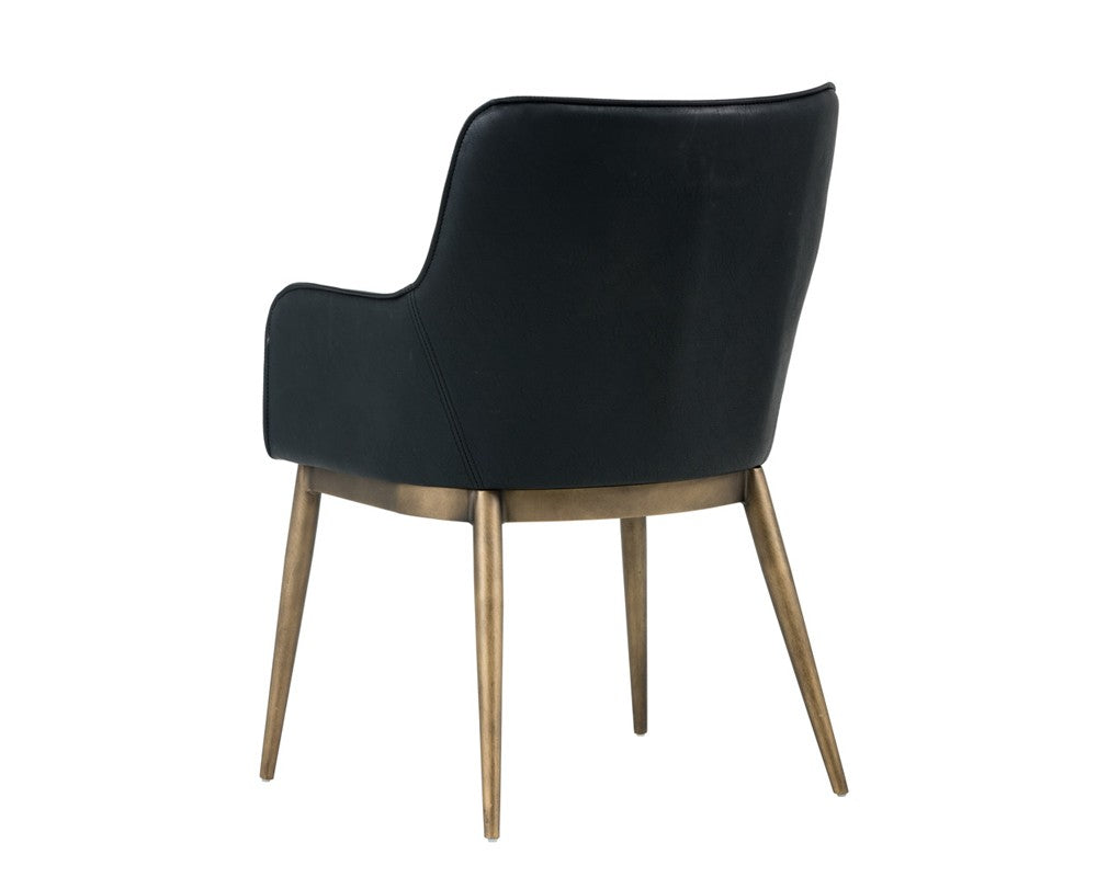 Franklin Dining Chair - Black