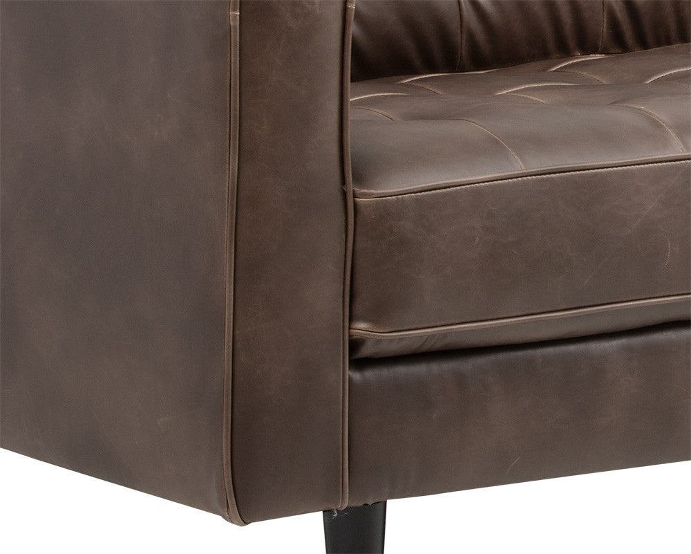 Donnie Sofa -  Havana Dark Brown